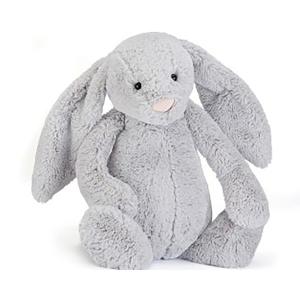 Jellycat 害羞系列邦尼兔 银色 巨大号 51cm