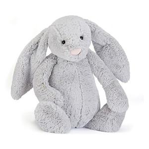 Jellycat 害羞系列邦尼兔 银灰色 超大号73cm