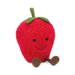 Jellycat 趣味草莓 儿童可爱毛绒玩具 玩偶25cm