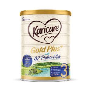 【新西兰直邮包邮】Karicare 可瑞康金装婴儿牛奶粉 3 段 6罐/箱(保质2021年3月)