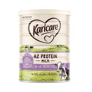 【新西兰直邮包邮】Karicare 可瑞康A2蛋白婴儿配方奶粉900g 2段(6罐包邮) (保质期至 2021年8月)