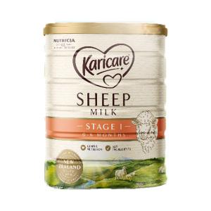 【新西兰直邮包邮】Karicare 可瑞康婴儿绵羊奶粉 1段(6罐/箱)【保质期:22年1月】