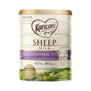 【新西兰直邮包邮】Karicare 可瑞康婴儿绵羊奶粉 2段(3罐/箱)【保质期:22年12月】
