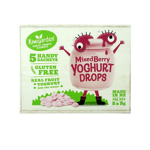 Kiwigarden 奇异果园 混合莓果味酸奶溶豆 45g 宝宝健康零食