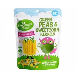 Kiwigarden 豌豆甜玉米粒 婴幼儿辅食 18个月以上 14g