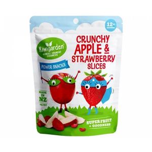 Kiwigarden 香脆苹果草莓干 婴幼儿辅食 12个月以上 14g