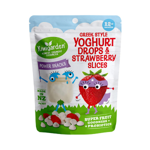 Kiwigarden 希腊酸奶溶豆草莓干 婴幼儿辅食 12个月以上 14g