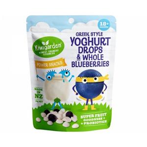 Kiwigarden 希腊酸奶溶豆蓝莓干 婴幼儿辅食 18个月以上 14g