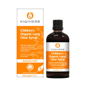 Kiwiherb儿童清肺化痰糖浆(痰咳专用)100毫升