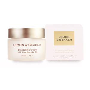 Lemon&Beaker柠檬烧杯 玫瑰亮白面霜 50ml
