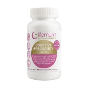 LIFEMUM 孕期孕妇复合维生素营养素 60粒