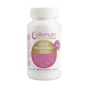 LIFEMUM 产后复合维生素营养素 60粒胶囊
