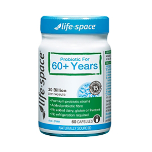 LifeSpace 老人益生菌粉末 60岁以上 60粒