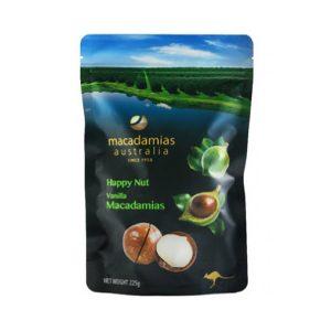 Macadamias 澳洲快乐烤坚果-香草味 225g