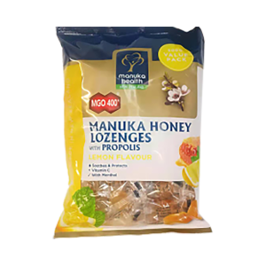 Manuka Health 蜜纽康 MGO400+ 蜂胶柠檬味含片 500克