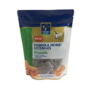 Manuka Health 蜜纽康 MGO400+ 蜂胶味含片 250克