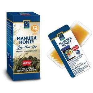 Manuka Health 蜜纽康 MGO100+ 小片装蜂蜜 5克 x 12