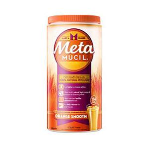 Metamucil美达施膳食纤维粉香橙味 114次量