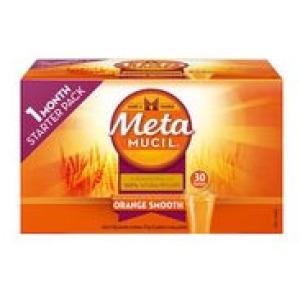 Metamucil美达施膳食纤维粉香橙味 30包