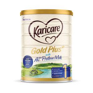 【新西兰直邮包邮】Karicare 可瑞康金装A2蛋白婴儿牛奶粉 1 段 3罐/箱(保质期至 2022年7月)
