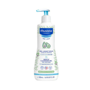 Mustela 妙思乐 温和洗发沐浴露 500ml
