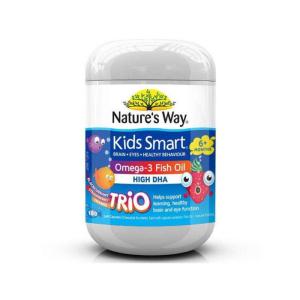 Nature's Way 佳思敏澳洲版儿童Omega-3 鱼油浆爆胶囊 180c