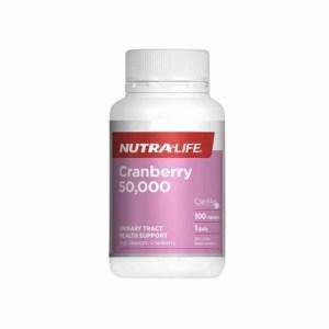 Nutra-Life 纽乐蔓越莓(50000)胶囊100粒