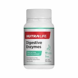 NutraLife 纽乐植物酶酵素 60粒