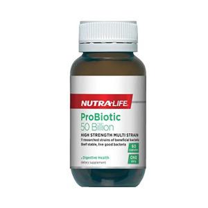 NutraLife 纽乐益生菌(腹泻便秘) 60粒