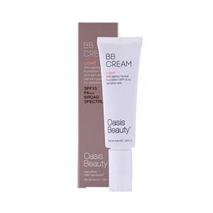 Oasis BB霜 Light BB Cream -适用于偏白肌,油性及混合性皮肤,推荐敏感肌适用 50ml