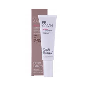 Oasis BB霜 Medium BB Cream -适合肤色自然偏黄肌肤,干性和中性肌肤,敏感肌可用 50ml