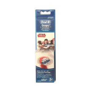 Oral-B 欧乐比儿童电动牙刷替换刷头 2支装 5岁+星际大战款