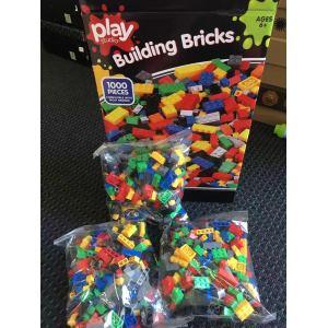 Play Studio 积木1000片 儿童益智玩具乐高兼容积木