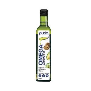 Puria 培尔 天然三合一混合油 核桃牛油果橄榄油 250ml