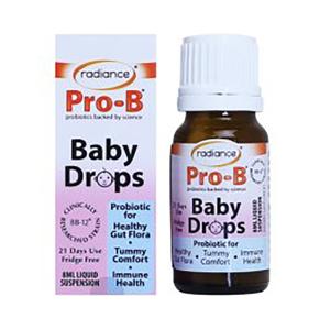 Radiance 液体婴儿益生菌滴剂益生元 8ml