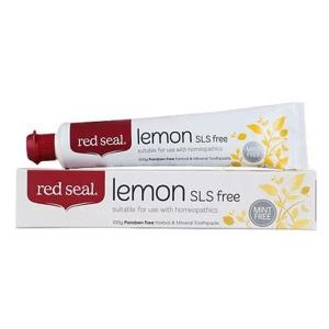 Red Seal 红印柠檬牙膏 100g
