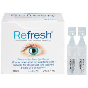 Refresh 眼药水30支 0.4ml