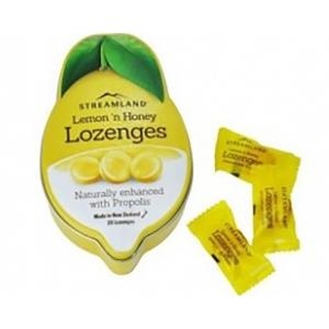 Streamland 柠檬蜂胶润喉糖 20粒