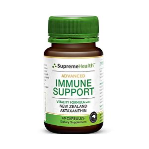Supreme Health 天然虾青素强效免疫增强胶囊 60s