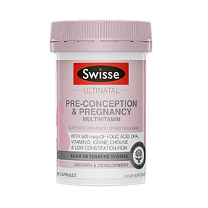 Swisse 孕前妊娠复合维生素60片