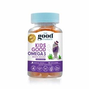 Thegood vitamin co 儿童 OMEGA-3 鱼油软糖 (香橙味)90粒