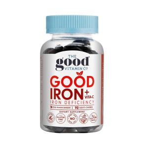 The good vitamin co补铁+VC软糖 90粒