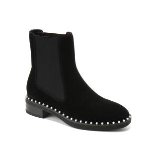 【中国仓】UGG DA371 秋冬新款 复古珍珠脚踝靴