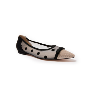 UGG DA677 春夏新款 波点蕾丝尖头鞋
