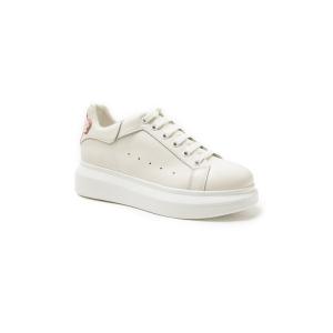 UGG DA678 春夏新款 厚底松糕板鞋   白色