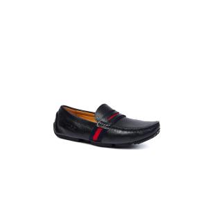 UGG DK716 春夏新款 条带商务皮鞋 男鞋黑色
