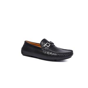 UGG DK717 春夏新款 英伦休闲皮鞋 男鞋黑色