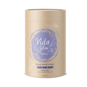 Vida Glow 深海天然胶原蛋白粉 30*3g  蓝莓味