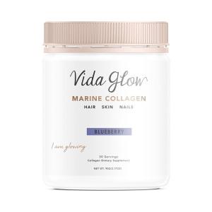 Vida Glow 深海胶原蛋白散粉 蓝莓味 90克