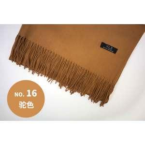VLE  围巾驼色 16号 (200cm*70cm)